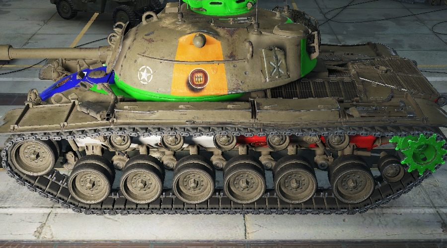 Wot Camo Calculator  WOTINFO - Weak points and vehicle data of AMX