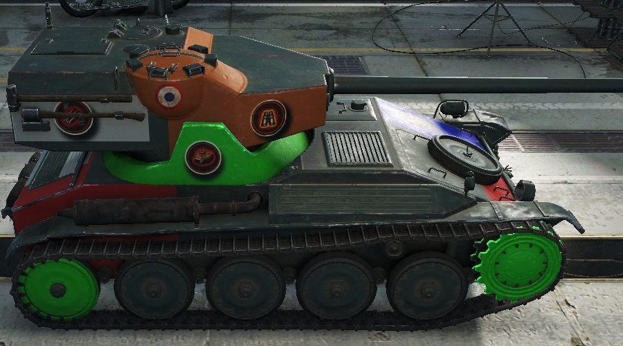 Light Tanks Revision: France
