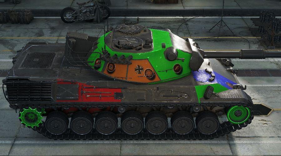 leopard tank pt a