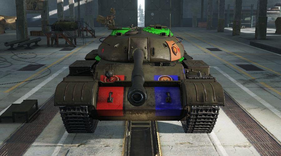 WOTINFO - Weak points of T-54