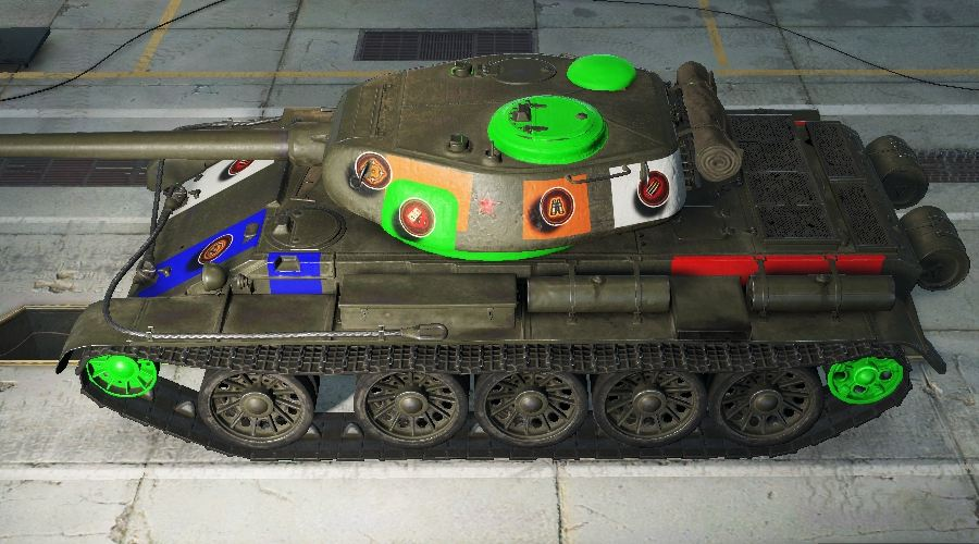 WOTINFO - Weak points of T54 First Prototype